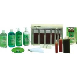 Clean+ Easy Waxing Spa Kit