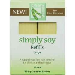 Clean+ Easy Simply Wax Refill Legs