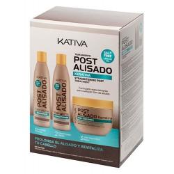 Kativa Kit Straightening Post (3x250ml)