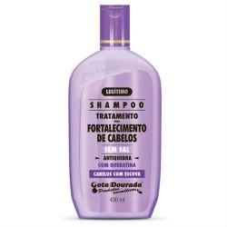 Gota Dourada Straightened Hair With Keratin Shampoo (430ml)