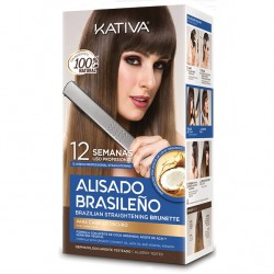 Kativa Kit Brazilian Straightening Brunette