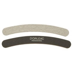 D'Orleac Nail File Banana 2 Faces 100/180
