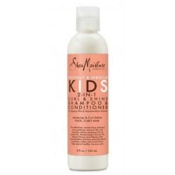 Shea Moisture Kids 2 in 1 Curl &Shine Shampoo & Conditioner (236ml)