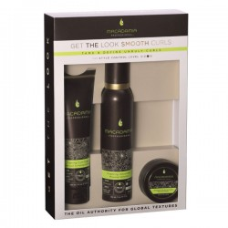 Macadamia Natural Oil Pack Get The Look Smooth Curls