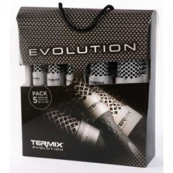 Termix Pack Profesional 5 brushes Evolution Soft / Fine hair