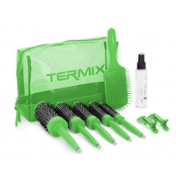 Termix Pack Brushing 3 Steps Green