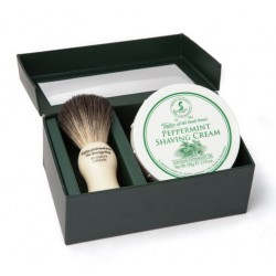 Taylor of Old Bond Street Pure Badger & Peppermint Gift Box