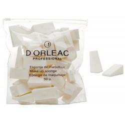 D'Orleac Makeup Sponge (50uds)