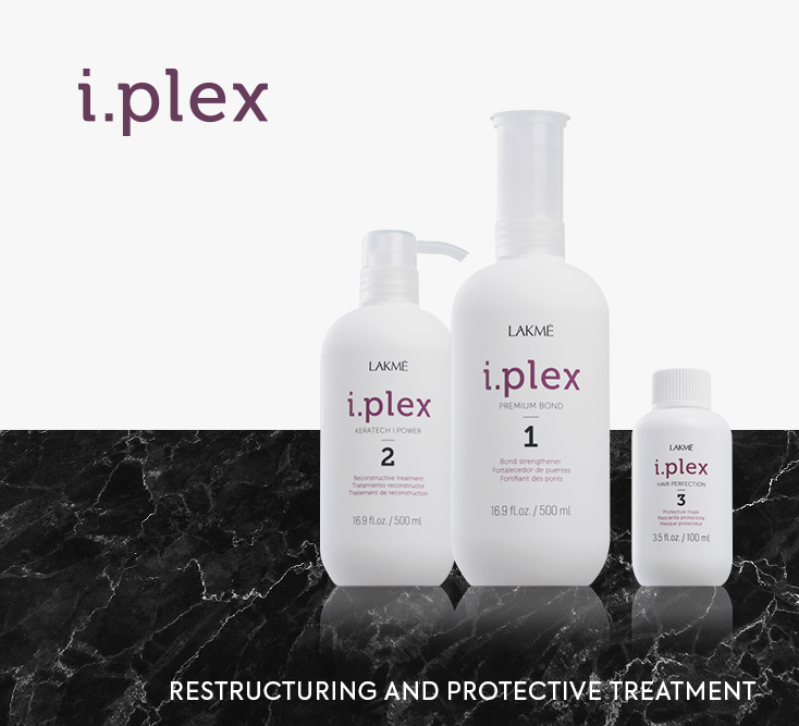 Lakme I.Plex. Restructuring and protective treatment